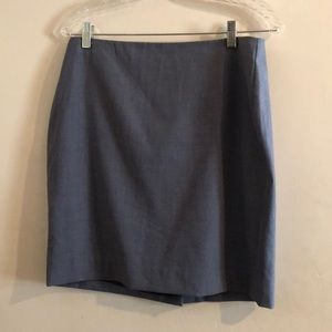 Banana Republic Pencil Skirt Dusty Blue-Gray